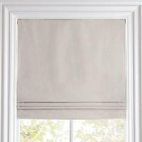 Window Treatments - Cotton Canvas Cordless Roman Shade | Roman Shades | Restoration Hardware Baby & Child - gray, cotton, canvas, cordless, roman shade