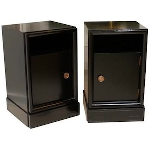 Pair of Asian Inspired End Tables, Pieces
