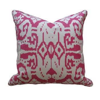 Magenta Ikat Pillow, Pieces