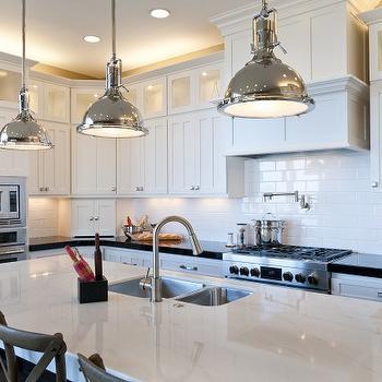 Angled Kitchen Island Transitional Kitchen Alice