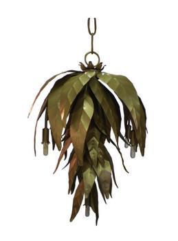 Metal Leaf Chandelier, Pieces
