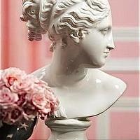 Beds/Headboards - White Venus Bust | Pieces - white, venus, bust