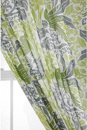 Window Treatments - UrbanOutfitters.com > Bird Flourish Curtain - bird, flourish, curtains