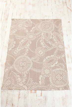 Rugs - UrbanOutfitters.com > 5x7 Lace Medallion Rug - lace, medallion, rug