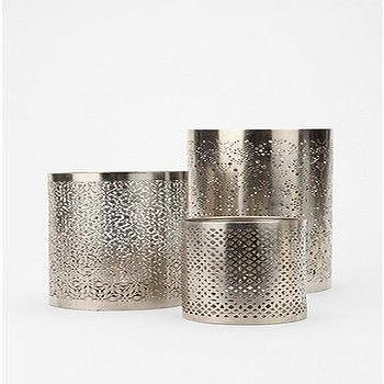 Decor/Accessories - UrbanOutfitters.com > Punched Metal Votive Candle Holder - punched, metal, votive, candle, holders