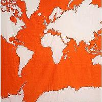 Art/Wall Decor - UrbanOutfitters.com &gt; Atlas Tapestry - orange, atlas, tapestry