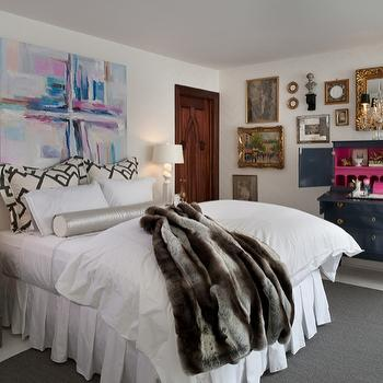 Lacuered Desk, Eclectic, bedroom, Donna Benedetto Designs