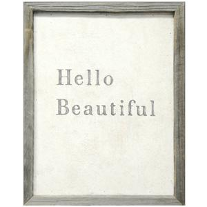 Art/Wall Decor - Hello Beautiful Art Print by Sugarboo Designs Modern Chic Home - hello beautiful, framed, art, print