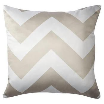 Decorative Chevron Pillow, Gold : Target