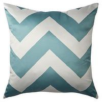 Pillows - Decorative Chevron Pillow - Turquoise : Target - turquoise, chevron, pillow