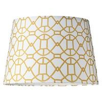 Lighting - Mix-and-Match Lamp Shade - Large : Target - geometric, gold, lamp, shade