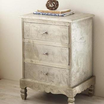 Etched Side Table, VivaTerra