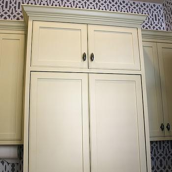 Yellow Cabinets, Contemporary, laundry room, The Casablanca Transformation