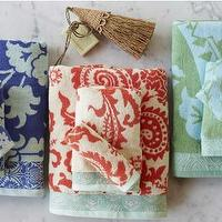 Bath - Flower Garden Towels - VivaTerra - flower, garden, towels