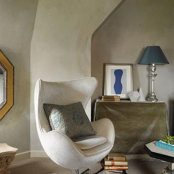 Venetian Plaster Walls, Transitional, living room, Benjamin Dhong