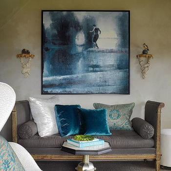 French Settee, Eclectic, living room, Benjamin Dhong