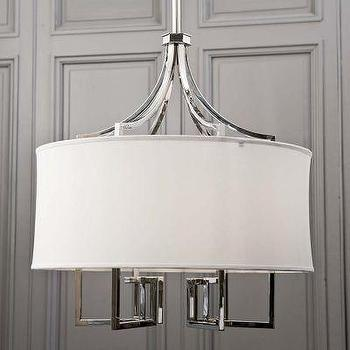 Lighting - Le Chic Chandelier Nickel Regina Andrew - regina andrew, le chic, chandelier