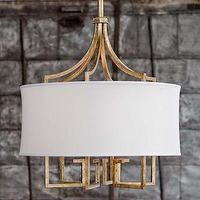 Lighting - Le Chic Chandelier Gold Regina Andrew - regina andrew, le chic, chandelier, gold