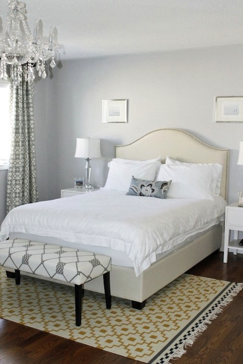 Gray and yellow bedroom contemporary bedroom ici for Dulux paint bedroom ideas