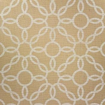 Wallpaper - Voyage Collection - Phillip Jeffries - rings, white, gold, wallpaper
