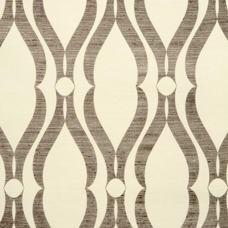 Wallpaper - Voyage Collection - Phillip Jeffries - arches, chocolate, wallpaper