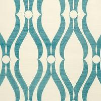 Wallpaper - Voyage Collection - Phillip Jeffries - arches blue, wallpaper
