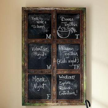 Laidley Wall-Mount Entryway Chalkboard, Pottery Barn