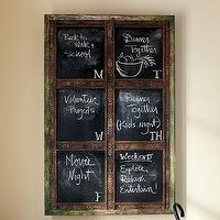 Art/Wall Decor - Laidley Wall-Mount Entryway Chalkboard | Pottery Barn - laidley, wall mount, chalkboard
