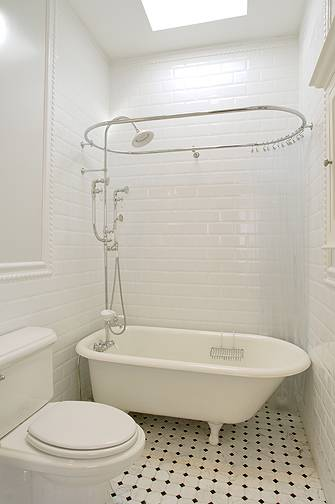 Subway Tile Shower Traditional Bathroom Xlart Group