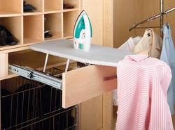 Decor/Accessories - Ironing Boards - Closet and Vanity Fold-Out Ironing Board by Rev-A-Shelf | kitchensource.com - closet ironing board, valet