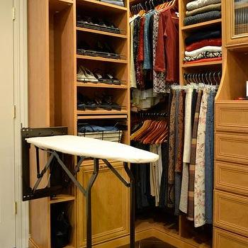 Decor/Accessories - Closet Essentials | Rylex Custom Cabinetry & Closets | Orange County, New York and beyond - closet, ironing board, valet