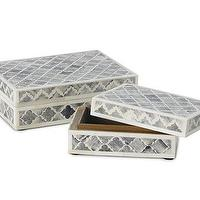 Decor/Accessories - Palace Bone Box | Williams-Sonoma - palace, bone, box