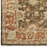 Rugs - Canyon Sands Oushak Rug | Williams-Sonoma - canyon, sands, oushak, rug