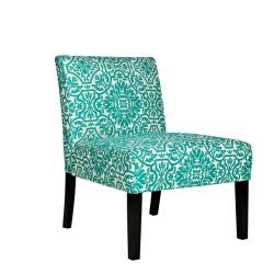 Living rooms armless chair accent chair turquoise beautiful before