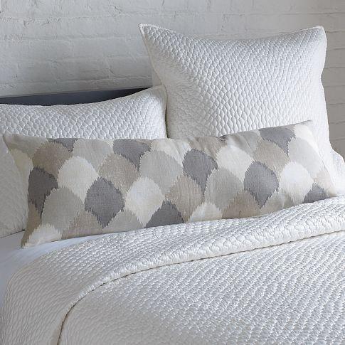 Sahara ikat hemp pillow cover west elm West elm pillows