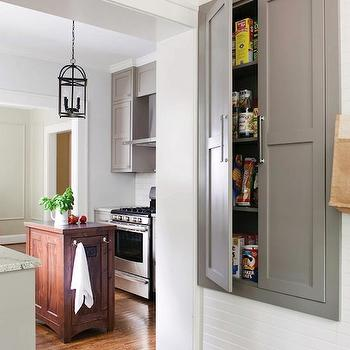 Atlanta Homes & Lifestyles - kitchens - built-in, kitchen cupboard, built in pantry, inset pantry, inset kitchen pantry, inset cupboards, inset kitchen cupboards,