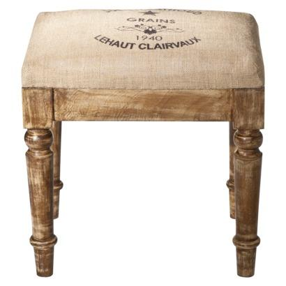 vintage charm wooden stool target