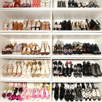 The Coveteur - closets - shoe, shelves, shoe cabinet, shoe cabinets, shoe shelves, shelves for shoes, shoe storage, shoe closet, closet shoe shelves, shoe racks, closet shoe racks,