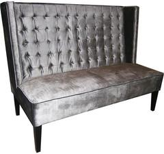 Seating - Ted Settee Sofa | Vielle and Frances - platinum, gray, ted, settee