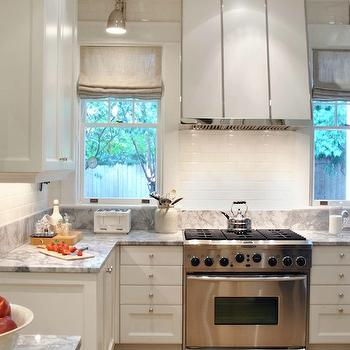 White Kitchen Hood, Transitional, kitchen, Design Galleria