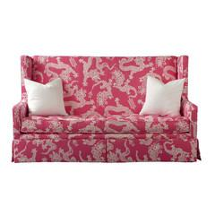 Seating - Leigh Settee by Lilly Pulitzer | Vielle and Frances - lily pulitzer, leigh, settee