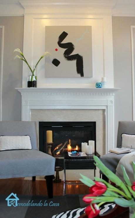 Living Room Sherwin Williams Requisite Gray