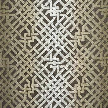 Fabrics - Ombre Maze - Java Indoor Upholstery Fabric - Fabric Copia - kelly wearstler, ombre maze, java, fabric