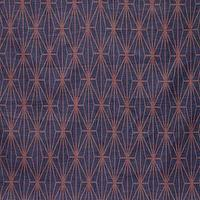 Fabrics - Katana - Blue/Berry Indoor Multipurpose Fabric - Fabric Copia - kelly wearstler, katana, blue, blueberry, fabric
