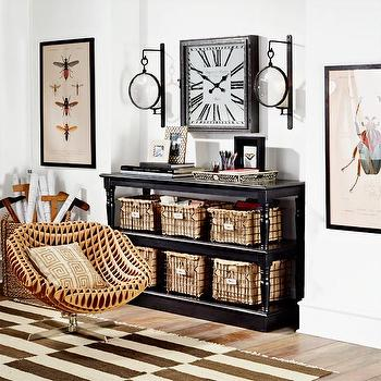 Storage Furniture - Stacked Sideboard - Black | Console Tables & Buffets | Wisteria - stacked, sideboard