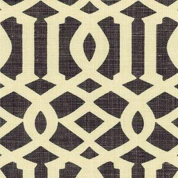 DecoratorsBest, Detail1, Sch 2643760, Imperial Trellis, Parchment Midnight, Fabrics, DecoratorsBest