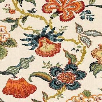 DecoratorsBest, Detail1, Sch 174031, Hot House Flowers, Spark, Fabrics, DecoratorsBest