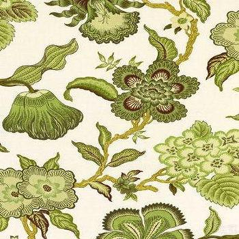 Fabrics - DecoratorsBest - Detail1 - Sch 174032 - Hot House Flowers - Verdance - Fabrics - DecoratorsBest - celerie kemble, hot house flowers, verdance, fabric