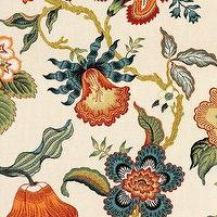 Fabrics - DecoratorsBest - Detail1 - Sch 174031 - Hot House Flowers - Spark - Fabrics - DecoratorsBest - celerie kemble, hothouse, flowers, spark