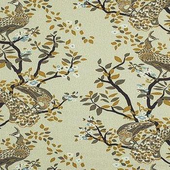 Fabrics - DecoratorsBest - Detail1 - RA Vintage Plumes - Birch - Vintage Plumes - Birch - Fabrics - - DecoratorsBest - dwell studio, vintage plumes, fabric